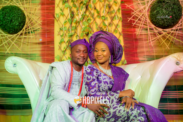 Nigerian Traditional Wedding Bride and Groom Dami & Tobi HB Pixels LoveweddingsNG 1