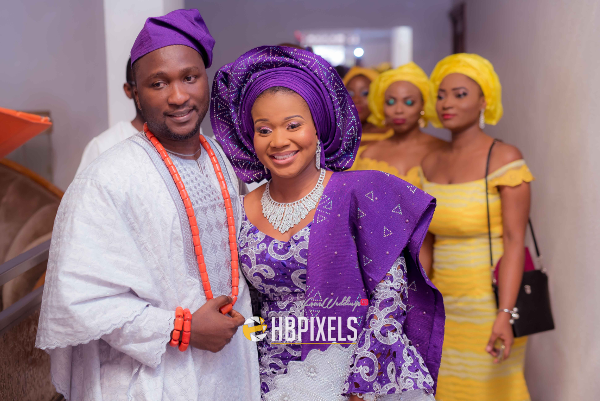Nigerian Traditional Wedding Bride and Groom Dami & Tobi HB Pixels LoveweddingsNG 2