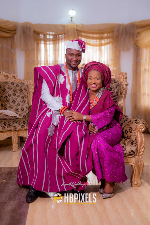 Nigerian Traditional Wedding Bride and Groom Dami & Tobi HB Pixels LoveweddingsNG 3