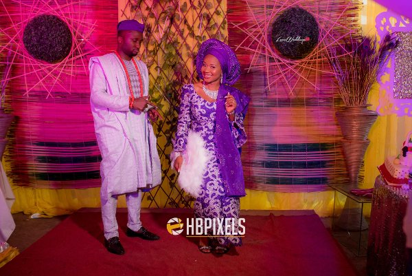 Nigerian Traditional Wedding Bride and Groom Dami & Tobi HB Pixels LoveweddingsNG
