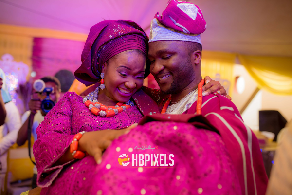 Nigerian Traditional Wedding Bride and Groom Igbeyawo Dami & Tobi HB Pixels LoveweddingsNG
