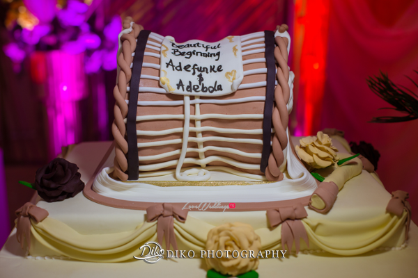 Nigerian Traditional Wedding Cake Adefunke & Adebola Diko Photography LoveweddingsNG 1