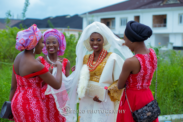 Nigerian Traditional Wedding Tope and Dami Diko Photography LoveweddingsNG 1