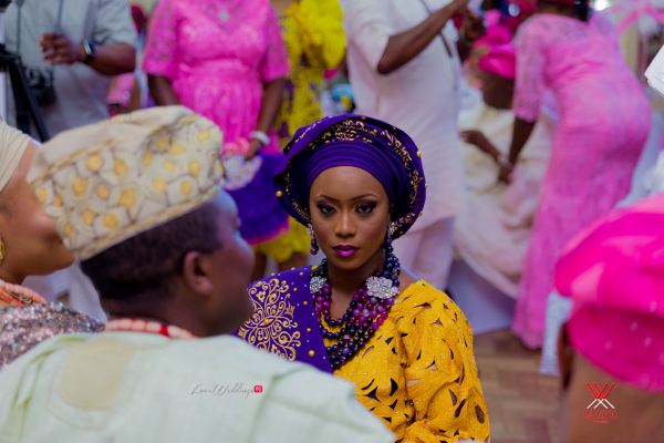 Nigerian Traditional Wedding in London Seun and Segun Bride LoveweddingsNG Dazzitto Photography 1