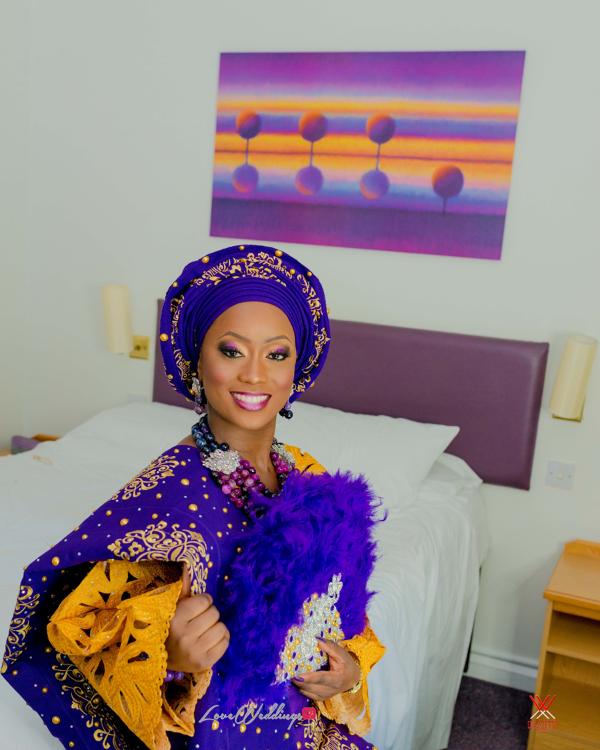 Nigerian Traditional Wedding in London Seun and Segun Bride LoveweddingsNG Dazzitto Photography 2