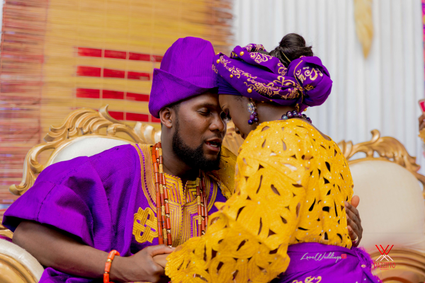 Nigerian Traditional Wedding in London Seun and Segun Bride and Groom LoveweddingsNG Dazzitto Photography 1