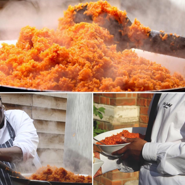 Nigerian UK Wedding Caterer Jollof Rice Eat Jollof London LoveweddingsNG