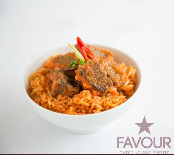 Nigerian UK Wedding Caterer Jollof Rice Favour Catering and Events LoveweddingsNG