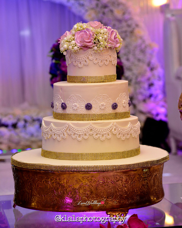 Nigerian Wedding Cake Bukky & Poju Klala Photography LoveweddingsNG