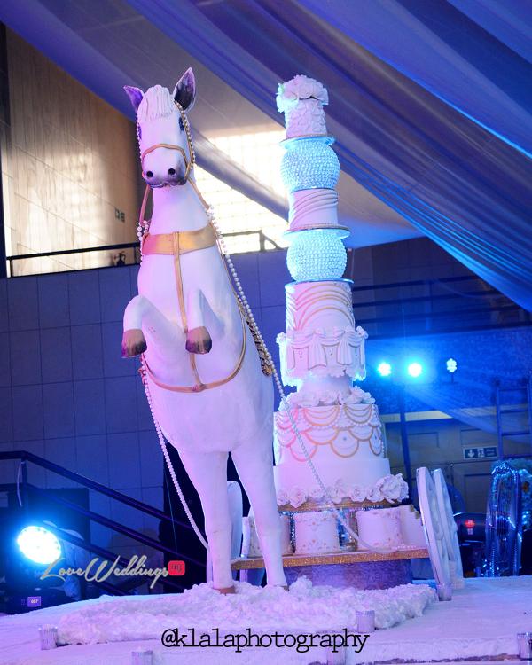 Nigerian Wedding Cake Sweet Indulgence Olamide Smith Udeme Williams LoveweddingsNG