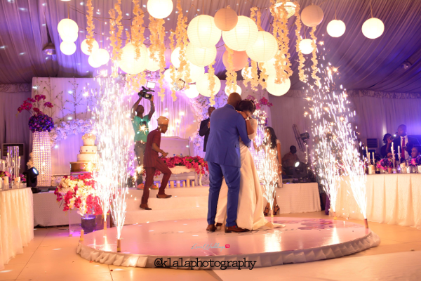 Nigerian Wedding Couple First Dance Bukky & Poju Klala Photography LoveweddingsNG