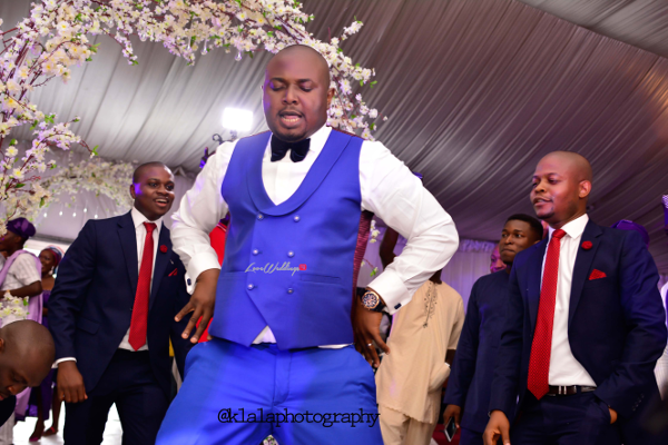 Nigerian Wedding Groom Dancing Bukky & Poju Klala Photography LoveweddingsNG