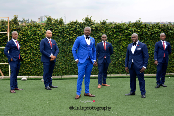 Nigerian Wedding Groom and Groomsmen Bukky & Poju Klala Photography LoveweddingsNG