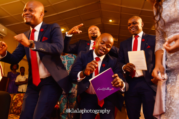 Nigerian Wedding Groomsmen Dancing Bukky & Poju Klala Photography LoveweddingsNG 1