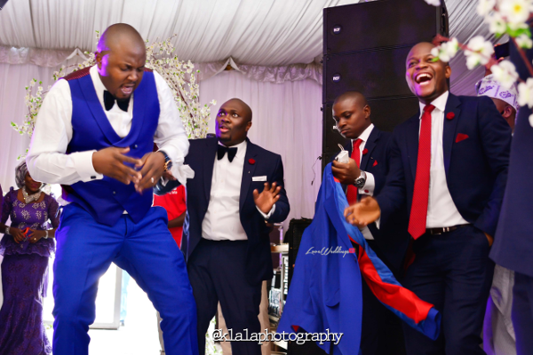 Nigerian Wedding Groomsmen Dancing Bukky & Poju Klala Photography LoveweddingsNG 2