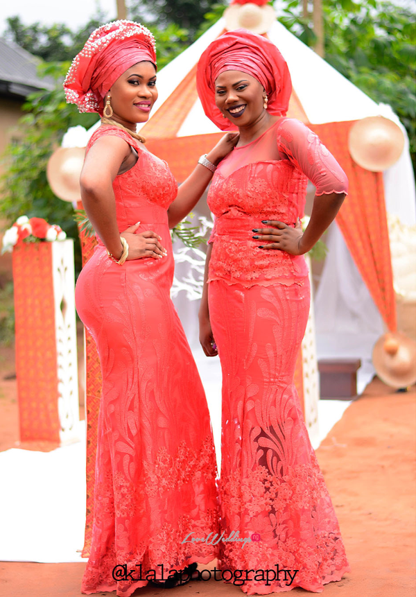 Nigerian Wedding Guests Aso Ebi Chichi and Stan Klala Photography LoveweddingsNG