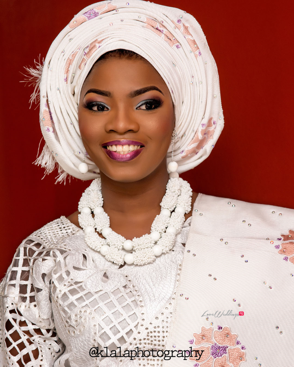 Nigerian Wedding Traditional Bride Bukky & Poju Klala Photography LoveweddingsNG 1