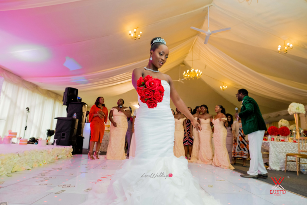 Nigerian Wedding in London Seun and Segun Bride LoveweddingsNG Dazzitto Photography 1