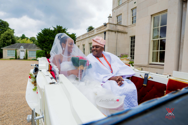 Nigerian Wedding in London Seun and Segun Bride and Father LoveweddingsNG Dazzitto Photography