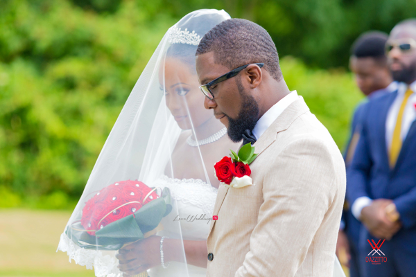 Nigerian Wedding in London Seun and Segun Bride and Groom LoveweddingsNG Dazzitto Photography 1