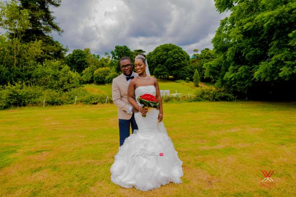 Nigerian Wedding in London Seun and Segun Bride and Groom LoveweddingsNG Dazzitto Photography 2