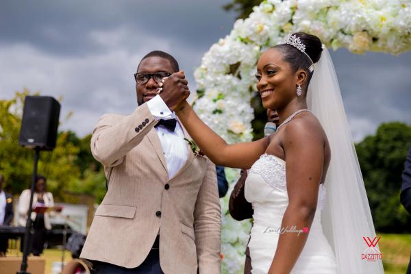 Nigerian Wedding in London Seun and Segun Bride and Groom LoveweddingsNG Dazzitto Photography 4
