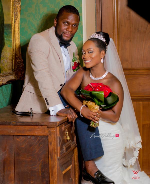 Nigerian Wedding in London Seun and Segun Bride and Groom LoveweddingsNG Dazzitto Photography 5