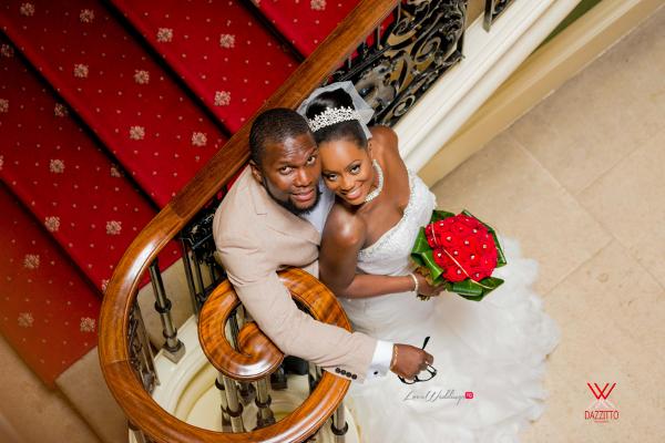 Nigerian Wedding in London Seun and Segun Bride and Groom LoveweddingsNG Dazzitto Photography 6