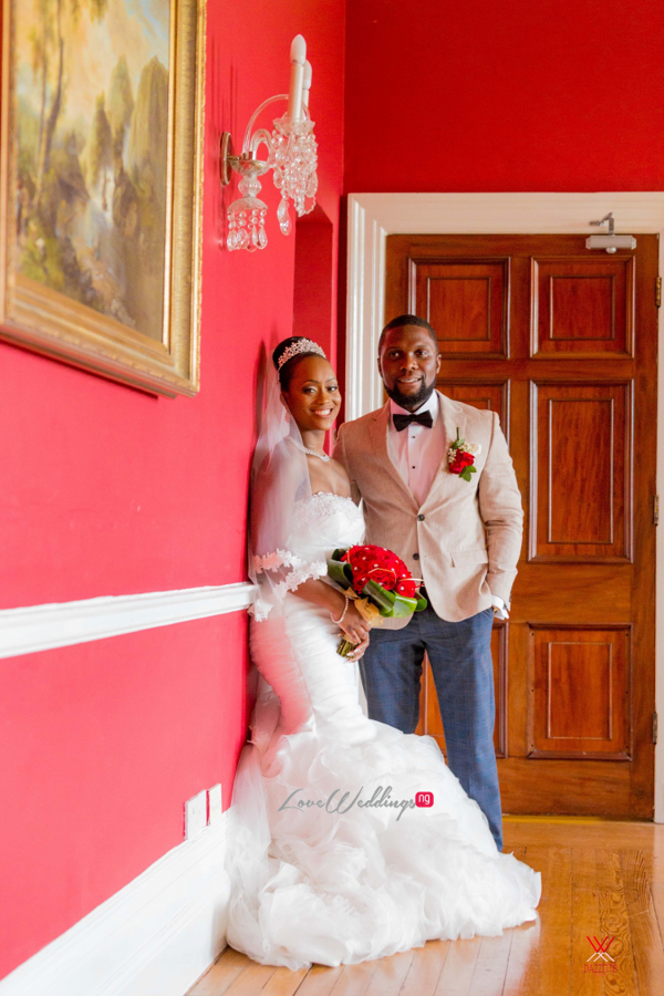 Nigerian Wedding in London Seun and Segun Bride and Groom LoveweddingsNG Dazzitto Photography 8
