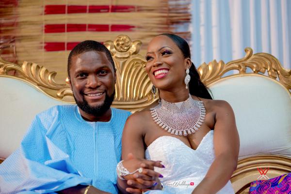 Nigerian Wedding in London Seun and Segun Bride and Groom LoveweddingsNG Dazzitto Photography 9