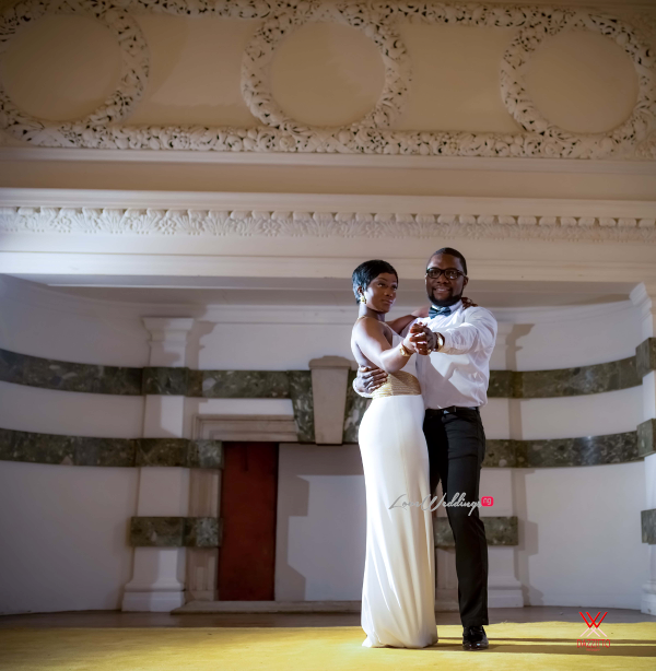 Nigerian Wedding in London Seun and Segun Bride and Groom LoveweddingsNG Dazzitto Photography