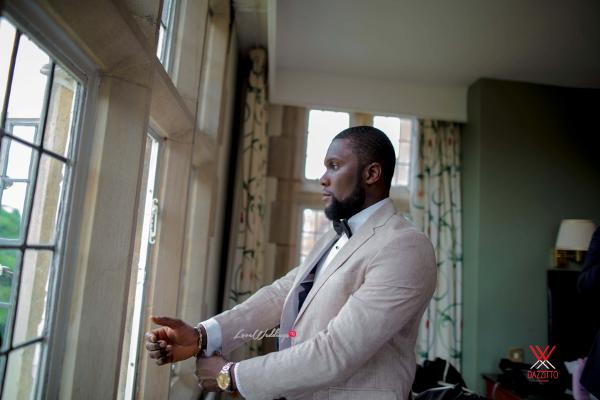 Nigerian Wedding in London Seun and Segun Groom LoveweddingsNG Dazzitto Photography