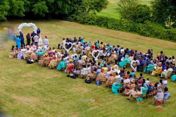 Nigerian Wedding in London Seun and Segun Outdoor Wedding LoveweddingsNG Dazzitto Photography