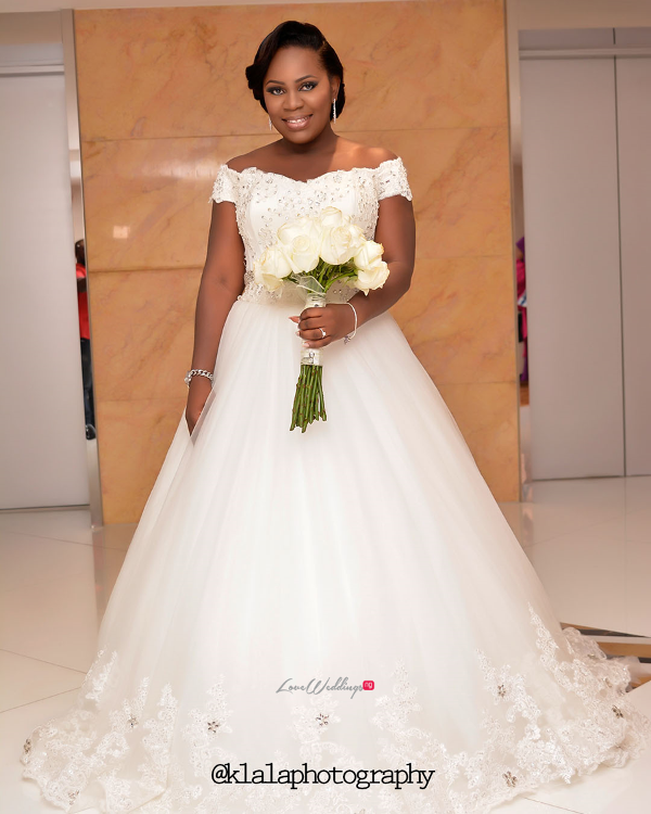 Nigerian White Wedding - Bride Folake and Ifeoluwa Klala Photography LoveweddingsNG