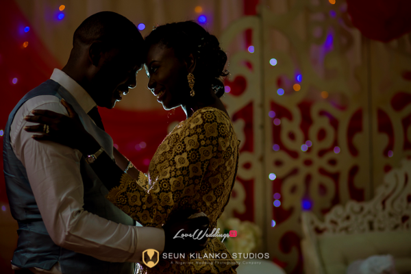 Nigerian White Wedding Bride and Groom Reception Outfit Seun and Tosin Seun Kilanko Studios LoveweddingsNG