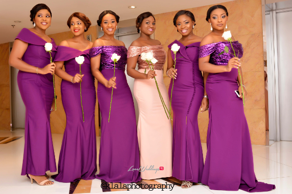 Nigerian White Wedding - Bridesmaids Folake and Ifeoluwa Klala Photography LoveweddingsNG 1