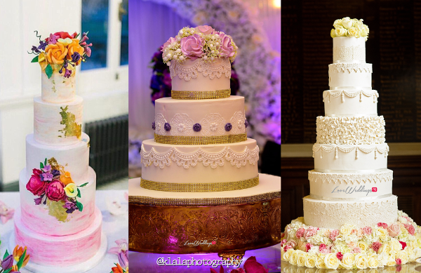 10 Amazing Nigerian White Wedding Cakes