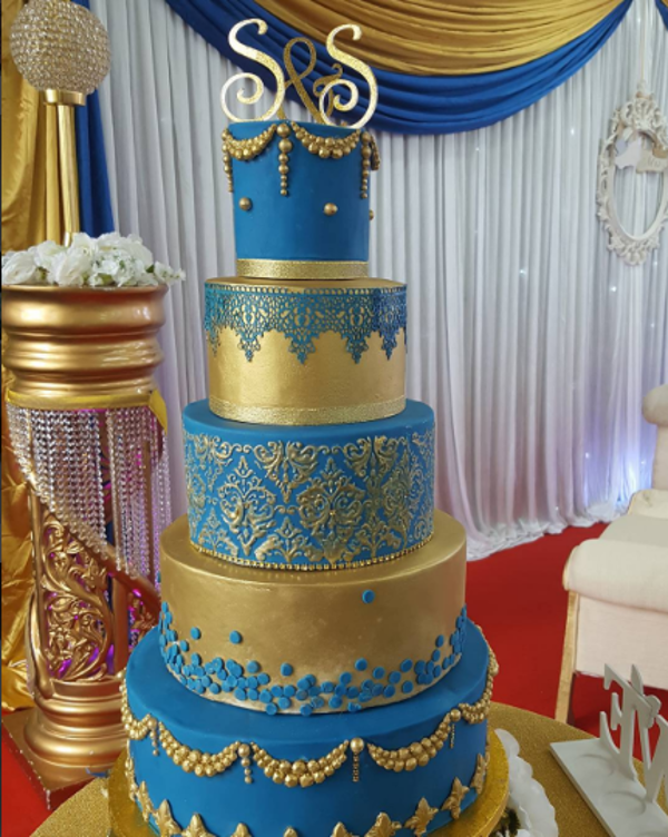Nigerian White Wedding Cake Just Like Mummy's LoveweddingsNG