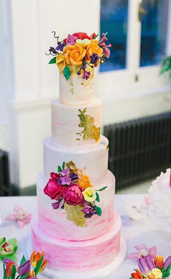 Nigerian White Wedding Cake QCakes LoveweddingsNG 3