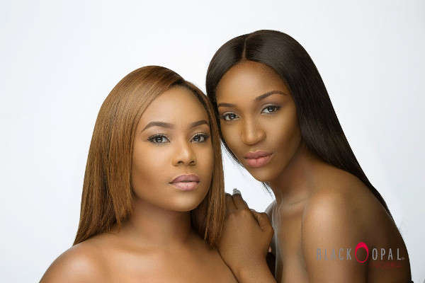 TV Presenter Mimi Onalaja & Model Idia Aisien are Stunning in Black Opal Nigeria's Latest Beauty Campaign