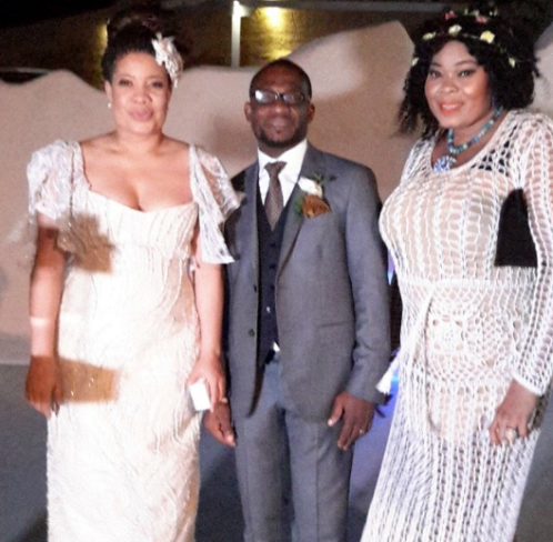 Monalisa Chinda Victor Tonye Coker White Wedding Greece LoveweddingsNG 1