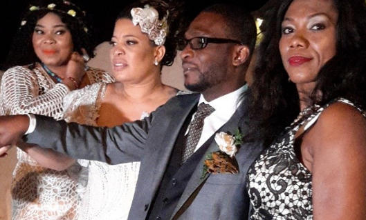 Nollywood Actress, Monalisa Chinda's Great-Gatsby Themed Wedding in Greece