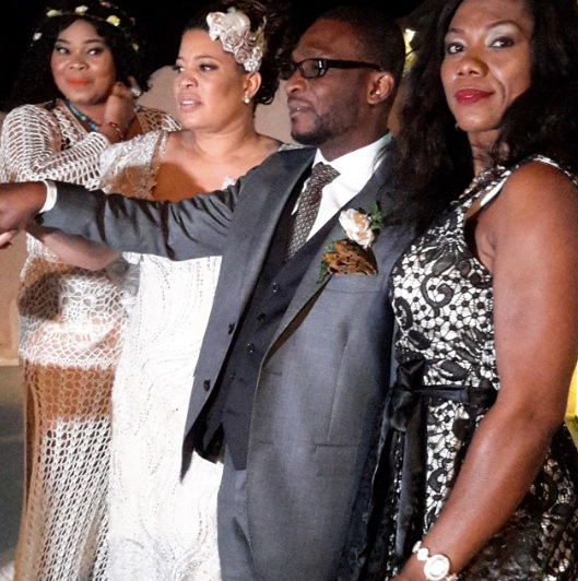 Monalisa Chinda Victor Tonye Coker White Wedding Greece LoveweddingsNG 2