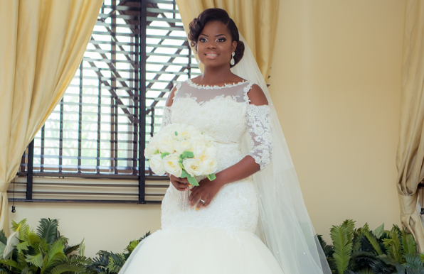 Our Stunning Makeup Artist – Adedayo Christine of Christine Signatures is married!!!