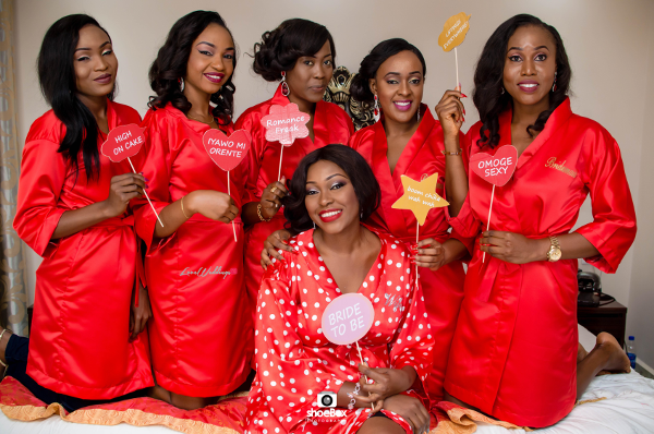 nigerian-bride-and-bridesmaids-moji-and-fola-bridal-robes-loveweddingsng
