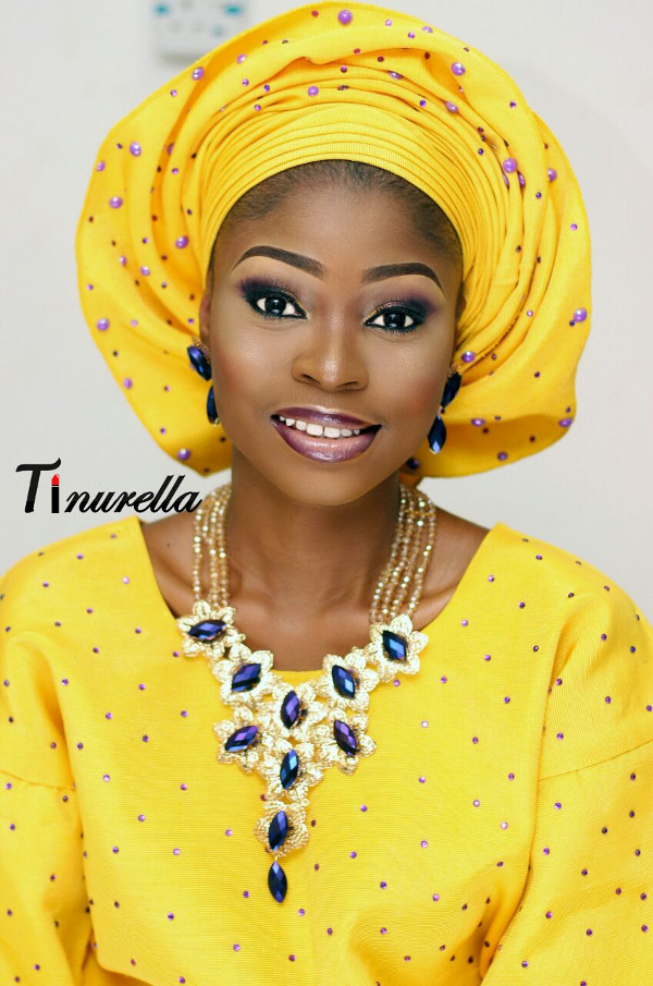 Nigerian Traditional Bridal Aso Oke Head to Toe LoveweddingsNG 2