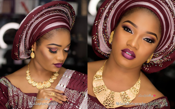 Nigerian Traditional Bridal Inspiration | Klala Photography