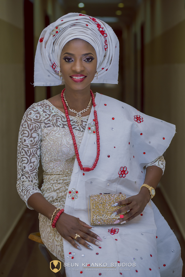 Nigerian Traditional Bride Lamide and Biodun Seun Kilanko Studios LoveweddingsNG 1