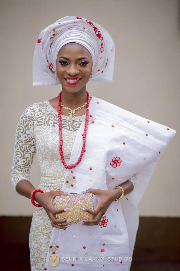 Nigerian Traditional Bride Lamide and Biodun Seun Kilanko Studios LoveweddingsNG 2