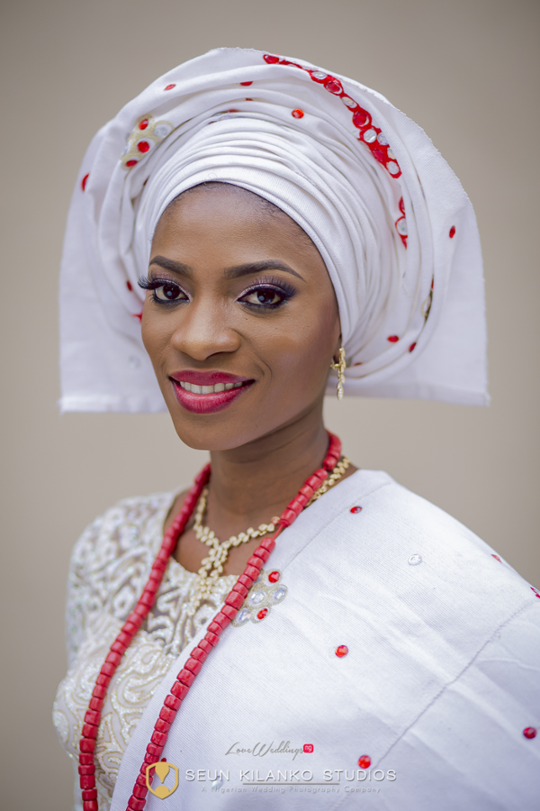 Nigerian Traditional Bride Lamide and Biodun Seun Kilanko Studios LoveweddingsNG 3